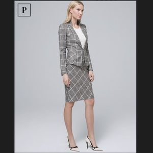 WHBM Plaid Suit